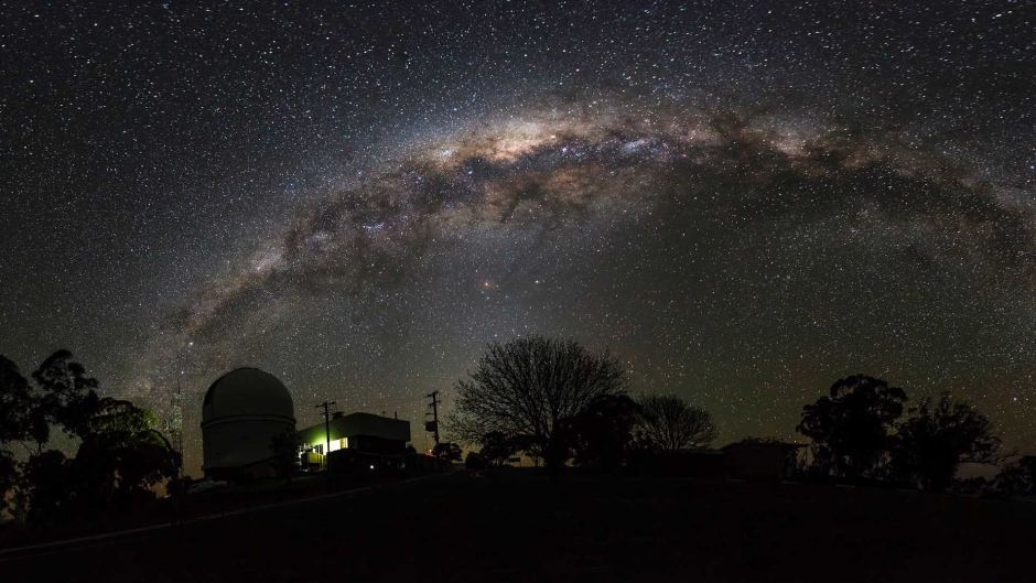Stargazing in Australia